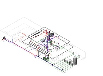 Projeto hidrossanitário