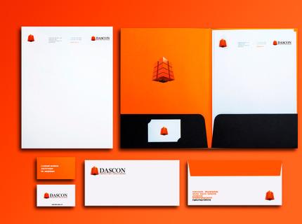 Diseño de identidad y papelería corporativa
