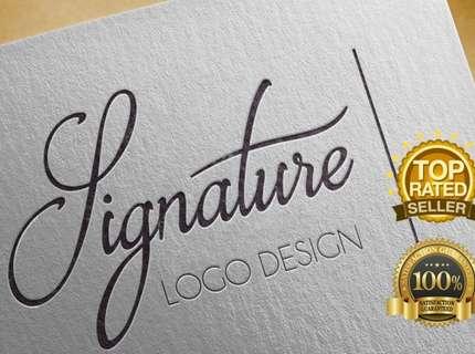 Logo Assinatura Desenhada