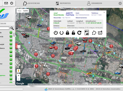 Plataforma Rastreo Vehicular GPS Completa