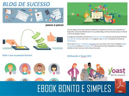 Ebook bonito e simples