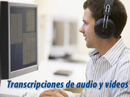 Transcripción de audio y vídeo