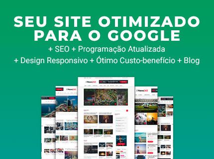 Site Wordpress otimizado para Google (SEO)