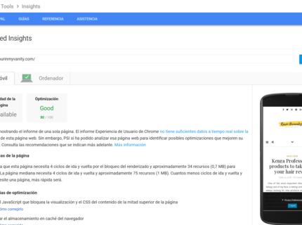 Optimización Web PageSpeed Gtmetrix