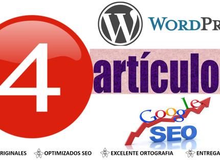 Artículos en WordPress