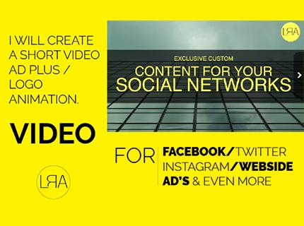 Videos Promocionales cortos para Redes
