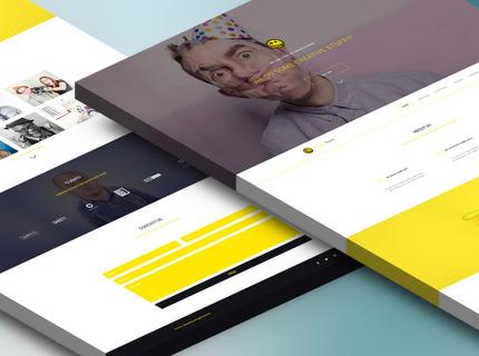 Landing Page Pro HTML 5 e CSS 3 no modelo One Page