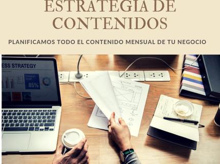 Creación de estrategia de marketing de contenidos