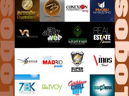 Diseño tu Logotipo para tu Proyecto, ¡Contáctame!