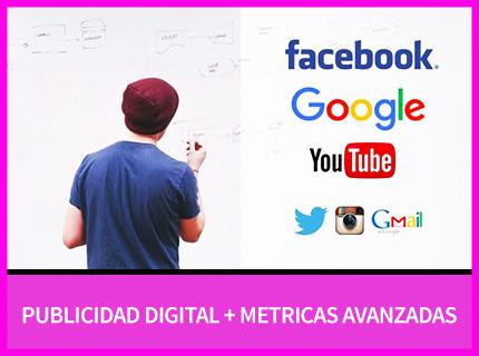 Campañas en Google, Facebook, Instagram, Linkedin