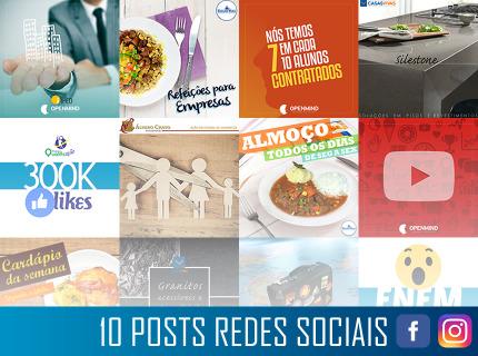 10 Publicações para Redes Sociais