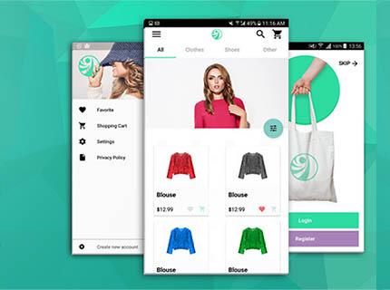 E-commerce + Aplicativo