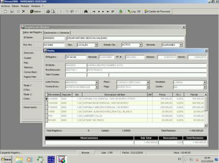 Sistema de control de Stock y Gestion