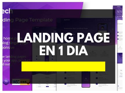 Landing Page en 1 Día
