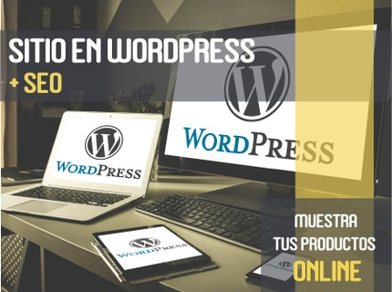 Sitio en Wordpress + SEO