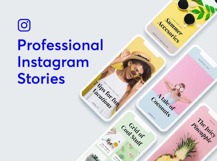 Instagram Stories Profesionales a medida